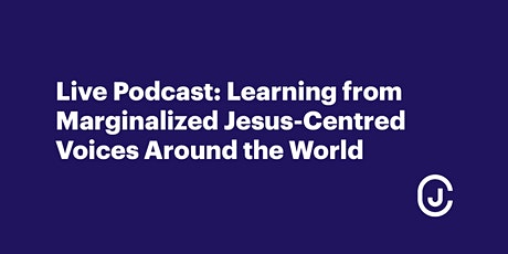 Learning From Marginalized Jesus-Centred Voices Around the World tickets