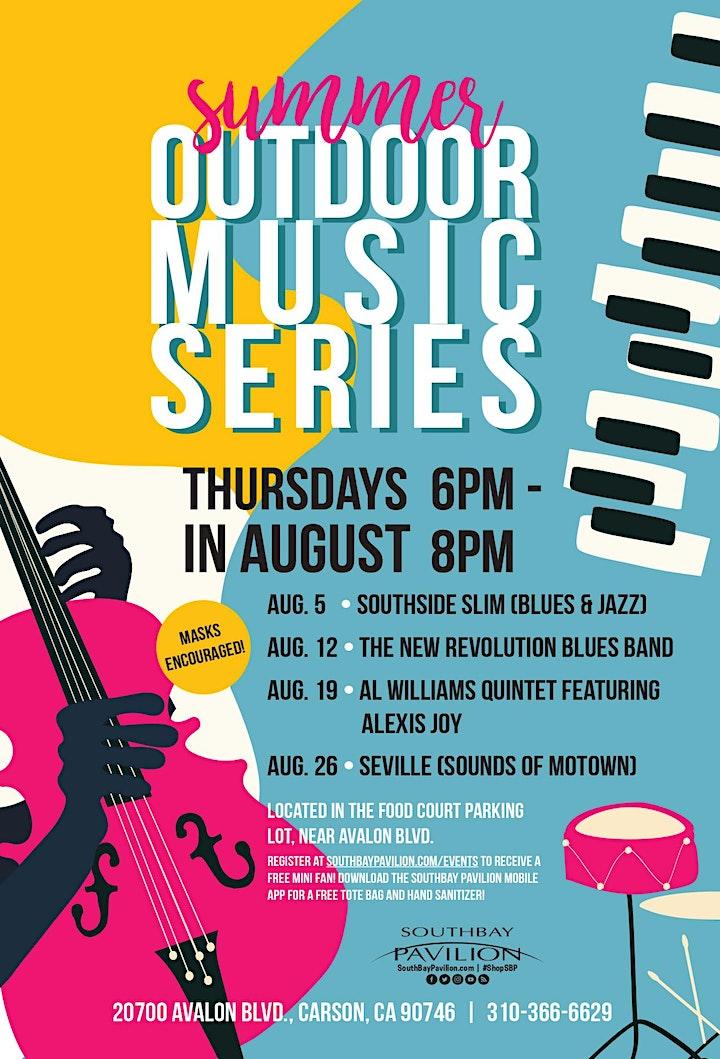 Summer Outdoor Music Series image