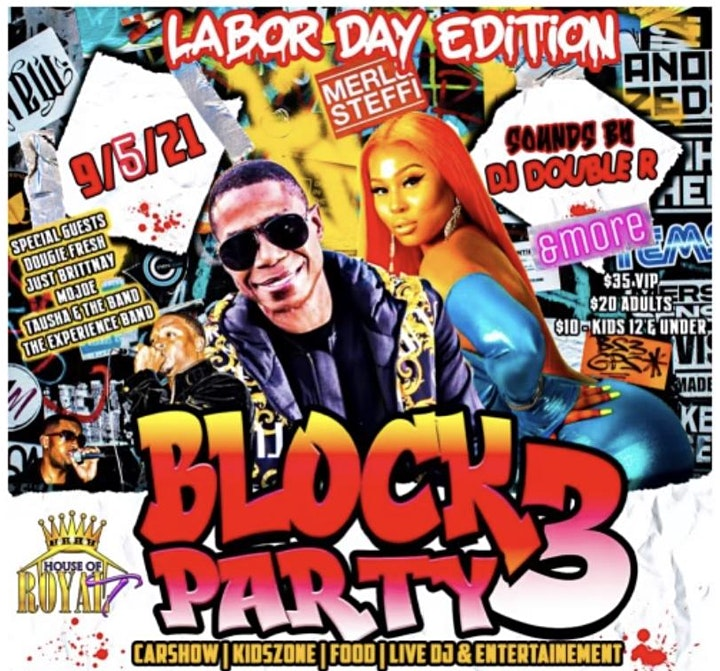 Block Party 3 Labor Day Edition image