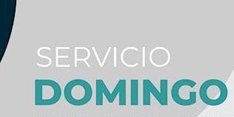 1er. Servicio Dominical - Domingo 8 de Agosto boletos