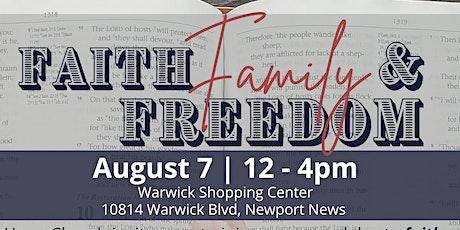 Faith, Family, & Freedom Rally tickets