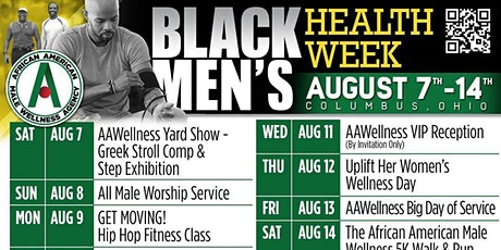Black Men's Health Week tickets