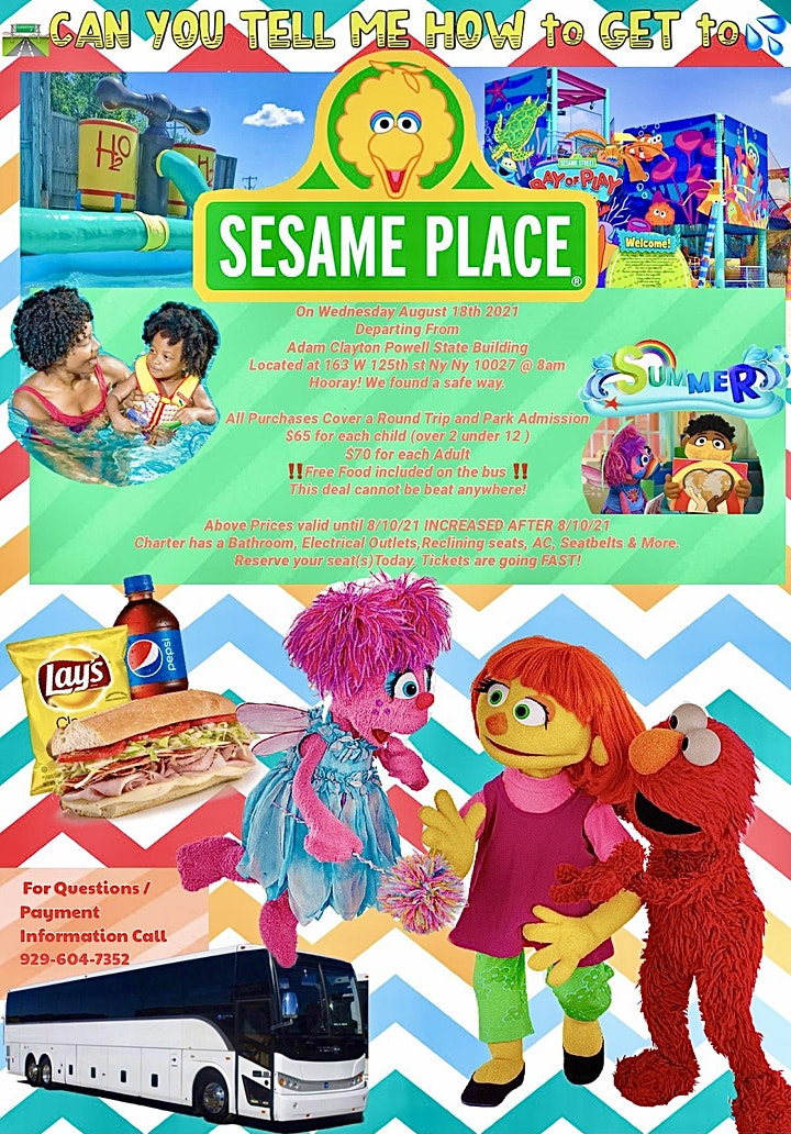 """""""CAN YOU TELL ME HOW TO GET; HOW TO GET TO SESAME STREET"""" image"""