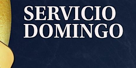 2do. Servicio Dominical - Domingo 8 de Agosto boletos