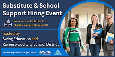 Recruiting Event for Substitute Teachers and School Support Staff tickets