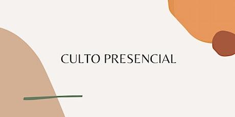 Culto Presencial 01/08/2021 - Igreja Batista Renovada MRP ingressos