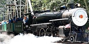 Ride the 1915 PPIE Overfair Railway Steam Train at...