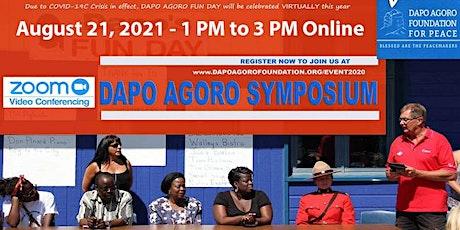 Dapo Agoro Virtual Fun Day 2021 billets
