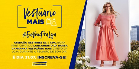 #EuVouPraLoja - Vestuário Mais ingressos