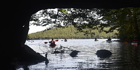 Kayak Two Caves in September tickets