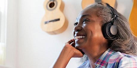 Cómo la música puede ayudar al cerebro – Evento virtual de AppleCare entradas
