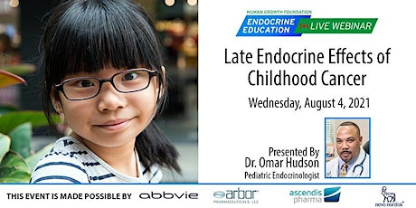 Late Endocrine Effects of Childhood Cancer tickets