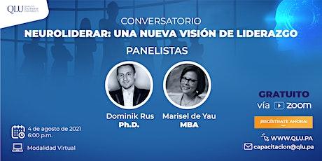 Conversatorio - Neuroliderar: una nueva visión del liderazgo boletos