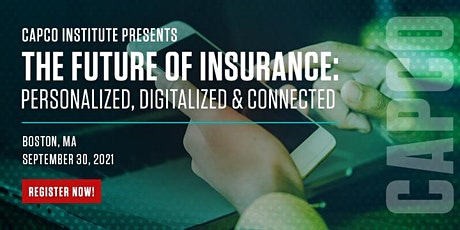 The Future of Insurance: Personalized, Digitized and Connected tickets