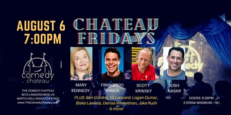 Chateau Fridays at the Comedy Chateau tickets