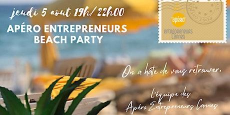 Apéro Entrepreneurs Cannes #6 - BEACH PARTY Zen&Energie billets