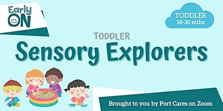 Toddler Sensory Explorers - Garden Sensory Bin tickets