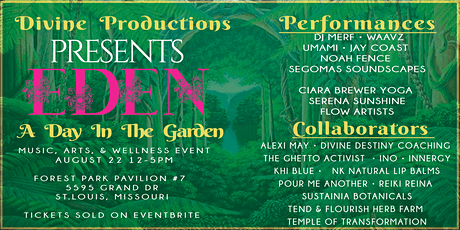Eden: A Day In The Garden Party tickets