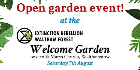 Open Garden at the Welcome Garden tickets