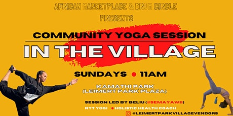 Community Yoga in the Village tickets