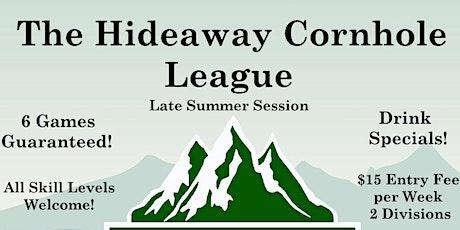 Saratoga Lake Golf Club - The Hideaway Cornhole League Late Summer Session tickets