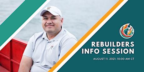 Rebuilders Cohort 12 Information Session tickets