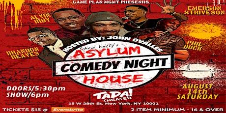 ASYLUM HOUSE COMEDY tickets