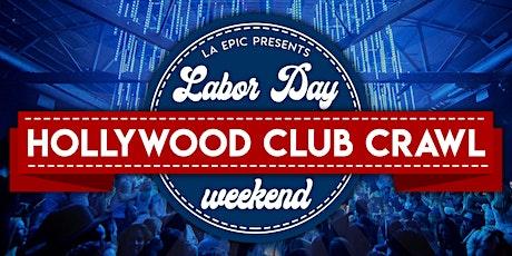 Labor Day Weekend Hollywood Club Crawl tickets