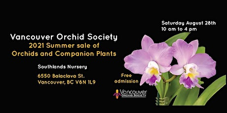 Vancouver Orchid Society Summer Sale tickets