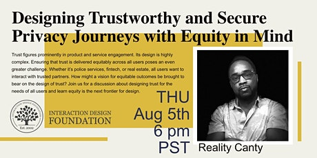 Designing Trusted User Journeys with Equity in Mind tickets