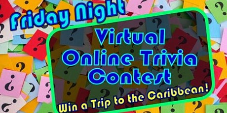 Virtual Trivia Night and Party: Win a Caribbean Trip tickets