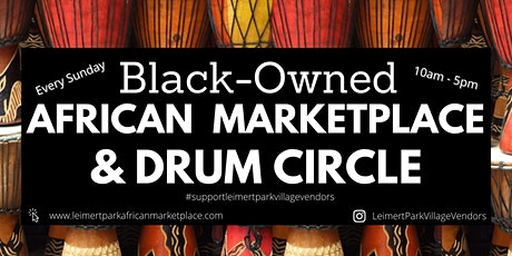 African Marketplace & Drum Circle Farmer's Market tickets