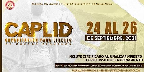 CapLid- Capacitando Lideres de Grupos Pequeños tickets