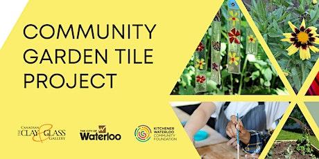 Community Garden Tile Project tickets