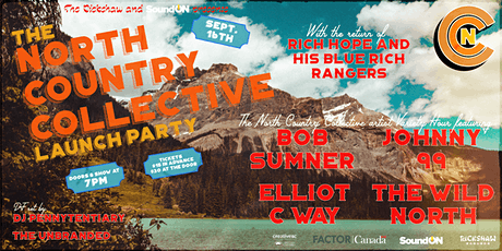 North Country Collective Launch Party w/ Rich Hope & his Blue Rich Rangers tickets