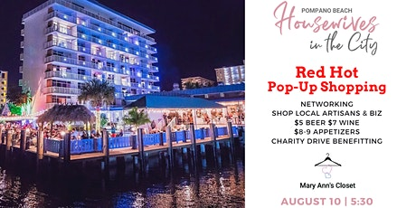 Red Hot Patio Social Pop-Up Shopping tickets