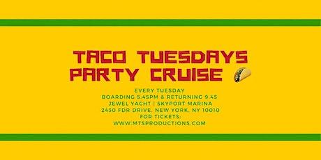 Taco Tuesday Cruise NYC | Jewel Yacht | Skyport Marina tickets