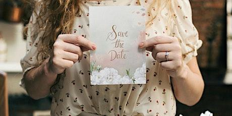 Bridal Wedding Stationary by Briarwood Bridal tickets