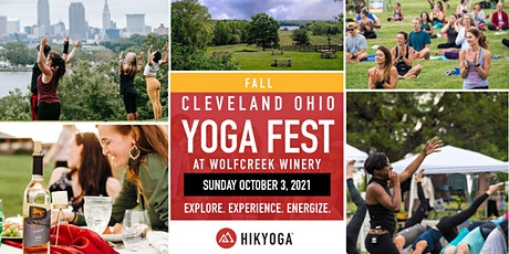 Fall Cleveland Ohio Yoga Festival at The Winery at Wolf Creek tickets