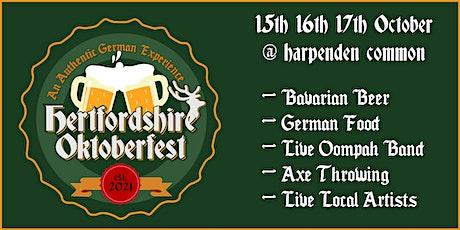 Hertfordshire Oktoberfest tickets