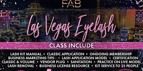 Las Vegas  Eyelash Extension Workshop+Business Branding tickets