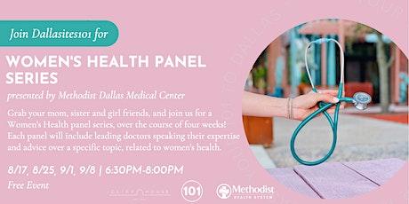 Women's Health Panel Series tickets