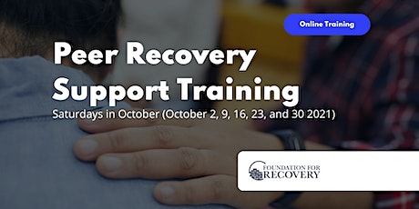 Online Peer Recovery Support Specialist Training tickets