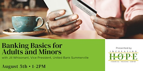 Banking Basics for Adults and Minors tickets