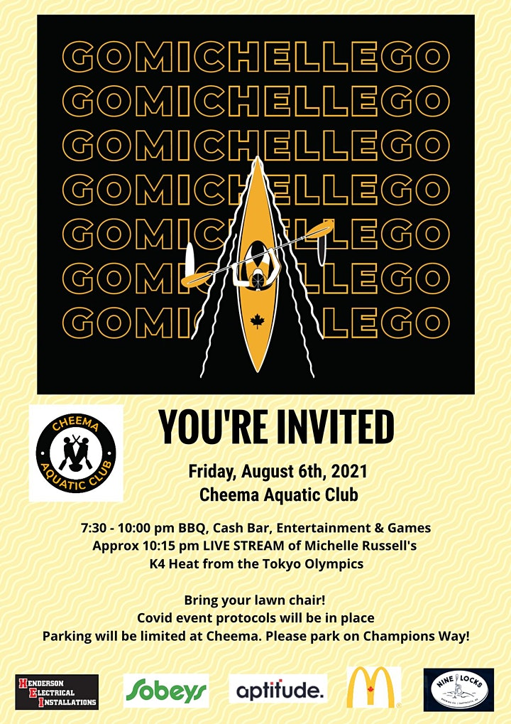 Cheema Booster Club presents - Pep Rally for our Olympian Michelle Russell image