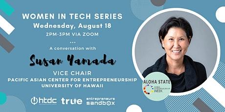 Women in Tech: An Interview with Susan Yamada tickets