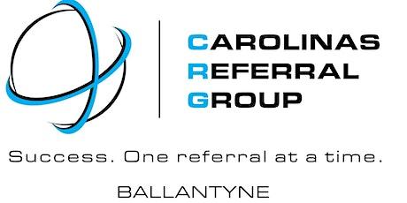 Carolina's Referral Group - Ballantyne THINK TANK with Tamara Bunte tickets