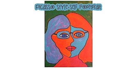Picasso Style Self-Portrait biglietti