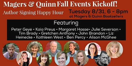 Fall Events Kickoff Author Signing tickets