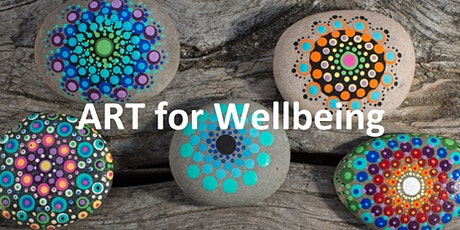 Stone Painting  - ART class (for mindfulness & wellbeing) tickets